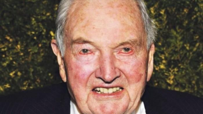 O asqueroso legado de David Rockefeller