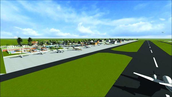 Projeto do condomínio aeronáutico no bairro Ratones (Foto: Divulgação/ND)