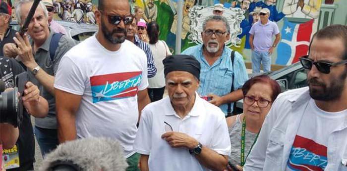 Porto Rico: Independentista Oscar López em seu povoado depois de 36 anos
