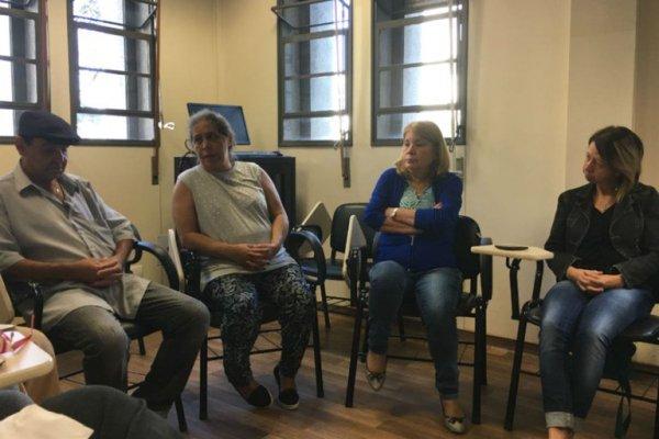 No ambulatório dos cuidadores, um espaço para dividir preocupações e encontrar tempo para si Foto: Ingrid Matuoka