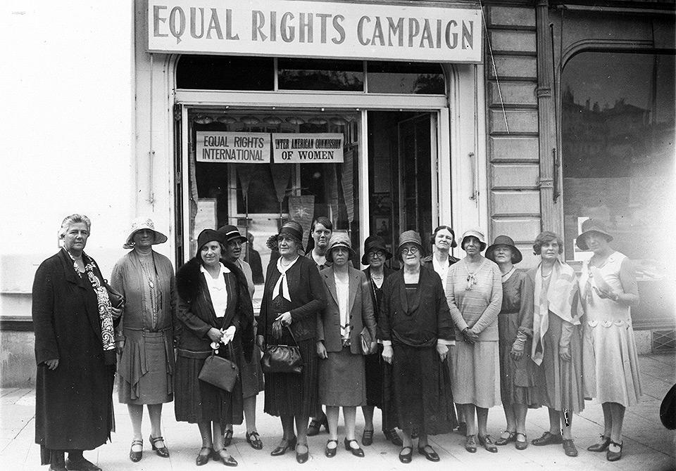 Grupo norte-americano que apoiava tratados e leis por equidade de direitos.