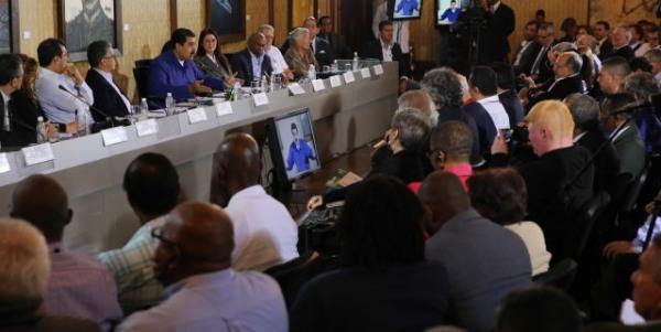 Venezuela mobiliza apoio internacional à Constituinte