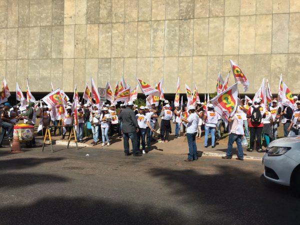 CTB faz pressão no Senado nesta quarta-feira (28) contra a reforma trabalhista