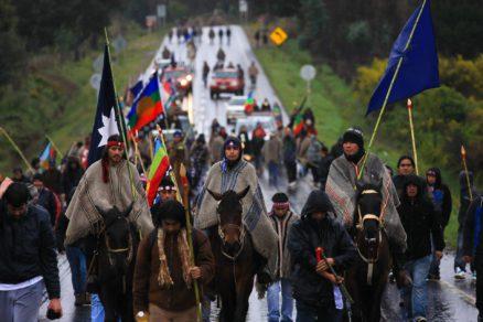Presos políticos mapuches cumpriram seu quinto dia em greve de fome