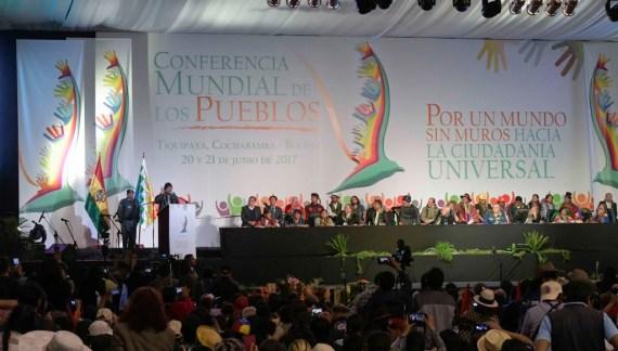 """Conferência Mundial dos Povos defende nova ordem mundial: """"livre da desigualdade entre os seres humanos"""""""