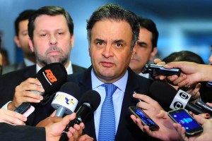 Partido dividido depois de pedido de prisão do presidente da sigla e desgaste do governo . Crédito: George Gianni/ PSDB.
