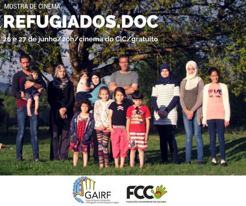 Cinema do CIC recebe mostra de filmes em homenagem ao Dia Mundial do Refugiado