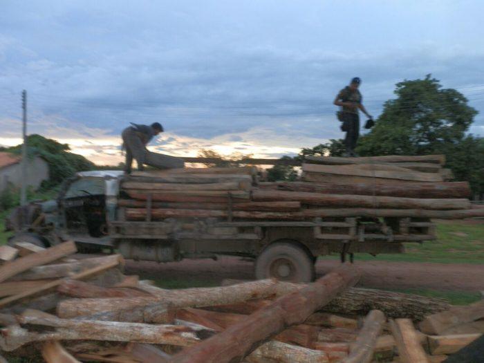 Madeireiros se reúnem e ameaçam invadir aldeia Pyhcop Catiji Gavião (MA) a qualquer momento
