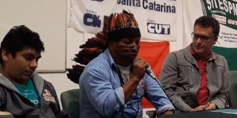 Indígenas do Araça'í falam sobre a luta no Oeste Catarinense