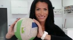 Isabelle, primeira transexual registrada em um time feminino no país