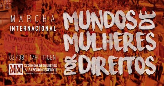 Mundos de Mulheres por Direitos – Marcha Internacional em Florianópolis