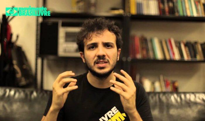 Líder do MBL é condenado pela Justiça a pagar R$ 20 mil a jornalista