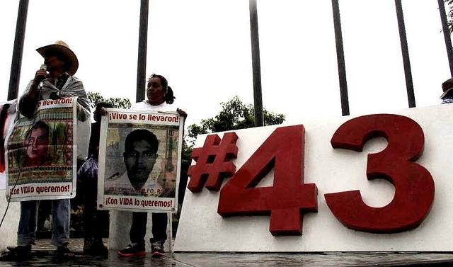 Desaparecimento de 43 de estudantes no México completa mais de 1000 dias