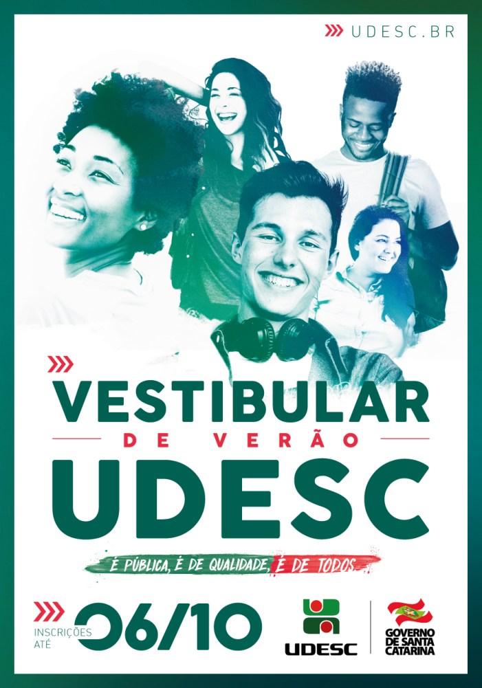 Vestibular de Verão 2018 da Udesc está com inscrições abertas para 49 cursos