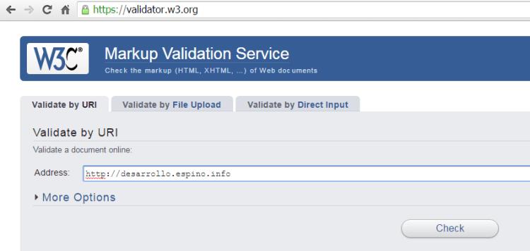 w3-org-Validator