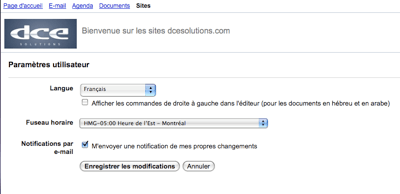 google sites Google Sites est maintenant disponible en franais 