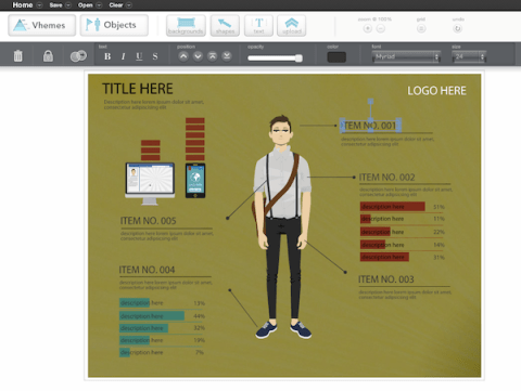 easelly easelly, une application Web pour crer des infographies