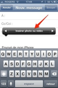 ios mail photo video piece jointe iPhone   iPad iOS 6 : dix astuces 