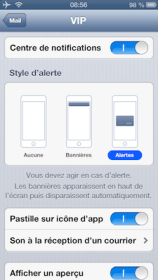 iPhone ipad notifications mail ios iPhone   iPad ios6 : comment personnaliser les notifications de vos différents comptes mail