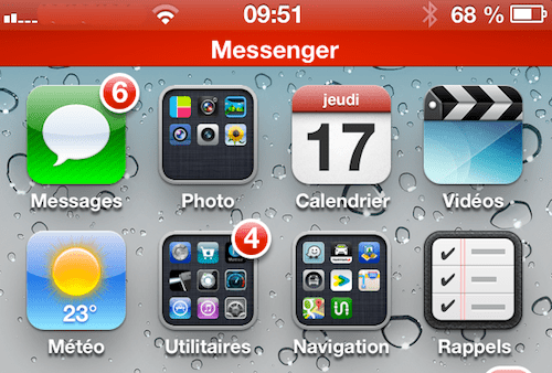 facebook messenger iphone ios revenir a ecran appel descary Comment passer un appel VOIP avec Facebook Messenger [iPhone]