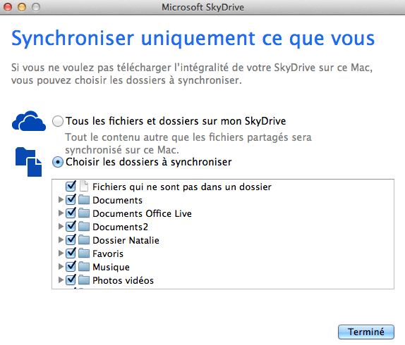 skydrive selection dossiers Microsoft SkyDrive: quelques nouveauts intressantes