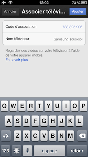 xbox 360 youtube associer iphone 2 iPad   iPhone: Comment utiliser Sent to TV, le AirPlay de Google sur votre xBox 360