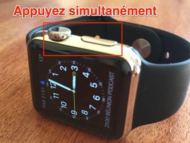 Apple Watch comment forcer la fermeture d'une application