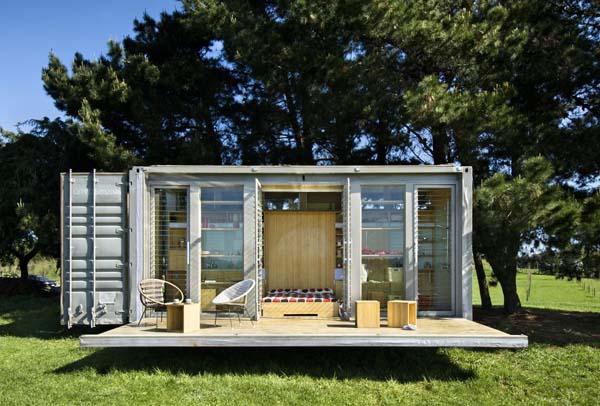 Wat hebben zeecontainers en wonen met elkaar te maken de scherpe pen - Huis in containers ...