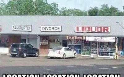 Locatie locatie locatie!