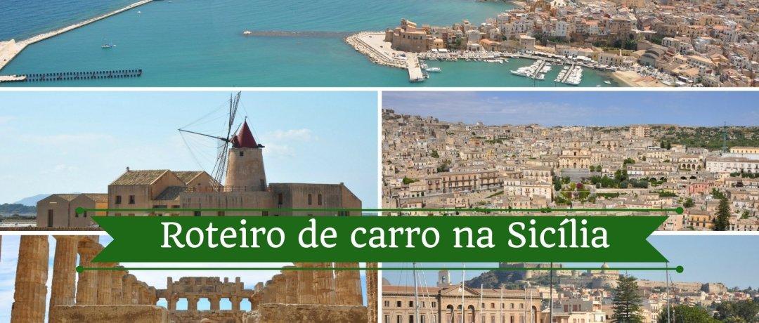 Roteiro de carro na Sicília dando a volta na ilha