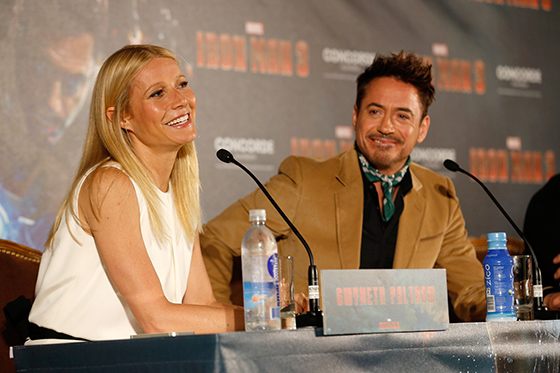"Marvel's ""Iron Man 3"" German Tour - Press Conference"