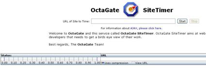 OctaGate velocidad de carga
