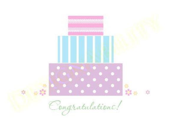Congratulations Cake