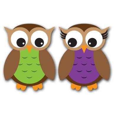 Owls Version 4 Clip Art SVG