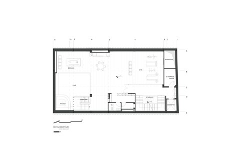 Sharifi-ha House by nextoffice - Basement Plan