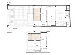 Sharifi-ha House by nextoffice 2nd Floor Plan