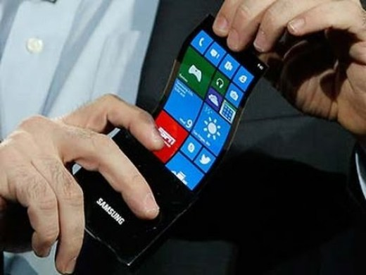 Samsung and LG have already played around with flexible technology.