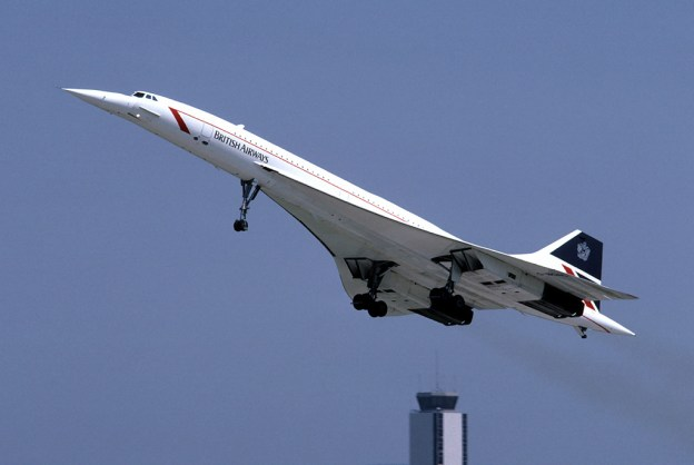 The Concorde supersonic jet was retired in 2003.
