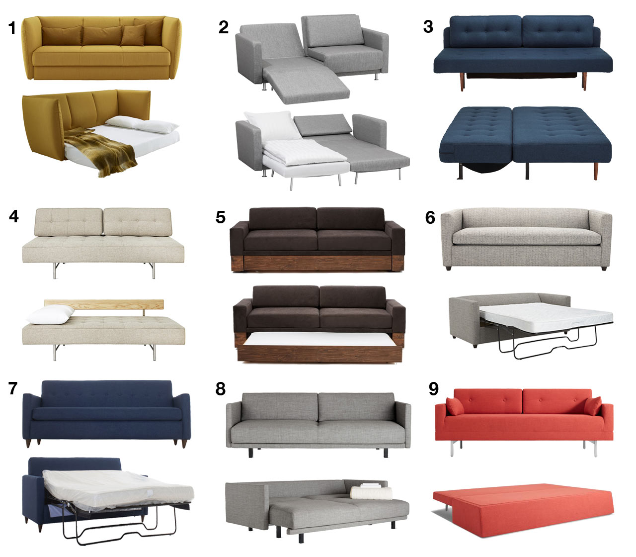 Awesome Storage Sleeper Sofas Your Guests Hate To Sleep On Sofa Beds Sleeper Sofas Your Guests Hate To Sleep Sofa Bed Couch Sofa Bed Sofa Beds houzz-03 Modern Sofa Bed