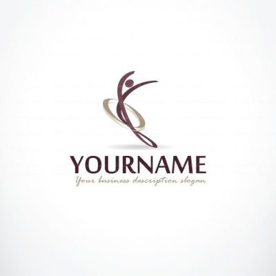 Exclusive Design woman Illustration logo FREE Business Card