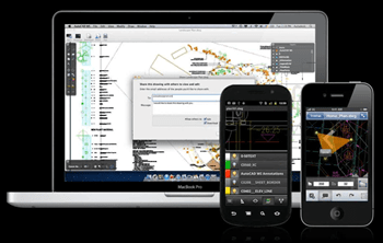 AutoCAD WS Cloud Based Mobile