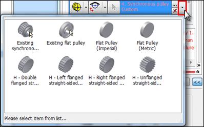 Autodesk Invnetor 2012 Synchrounous Pulley Type