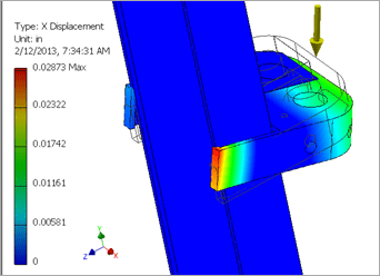 Autodesk Inventor 2013 Stress Analysis Results