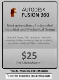 Fusion 360 price