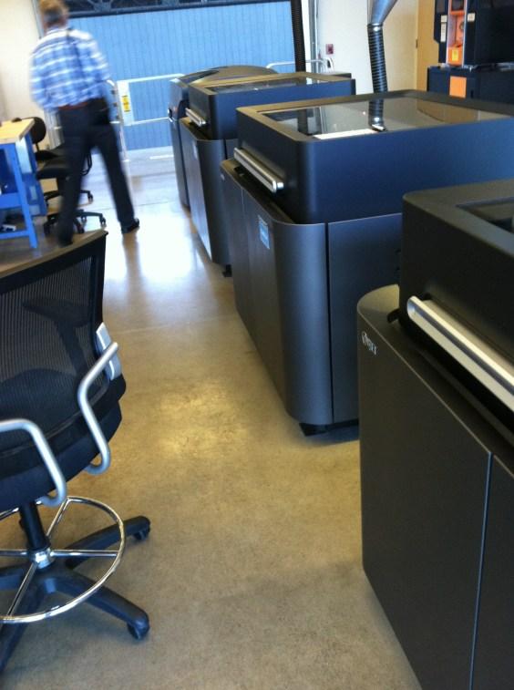 Autodesk Workshop at Pier9 Objet 3D Printers