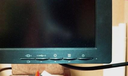 Lenovo LT3053pwA Monitor buttons