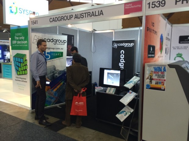 The CADGroup Booth at Manufacturing Week, Sydney