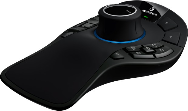 SpaceMouse Pro Wireless ISO