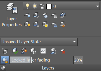 AutoCAD Layers Panel Expanded