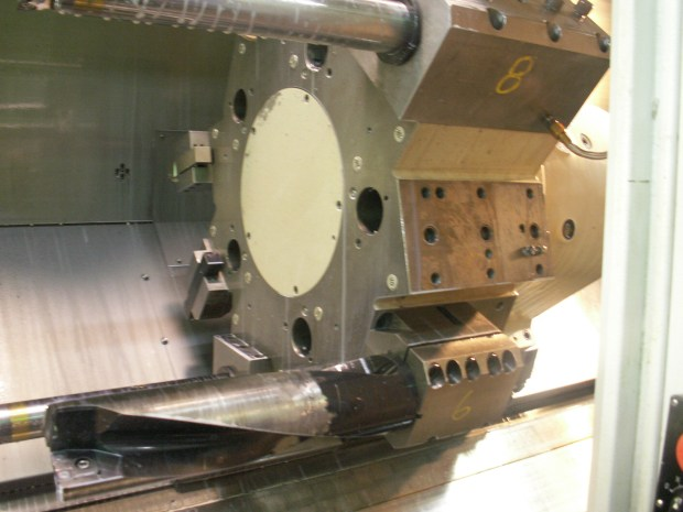 Ft Walton Machining Iscar Drill on Lathe